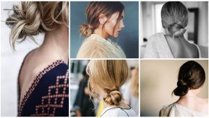 Easy Hairstyles Knot Easy Mom Hair Low Knot Easyhairstylesstepbystep