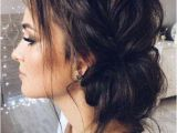 Easy Hairstyles Messy Buns 20 Elegant Updo Hairstyles for Weddings
