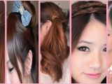 Easy Hairstyles On Youtube 5 Quick and Easy Back to School Hairstyles Youtube with