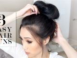 Easy Hairstyles On Youtube Fabulous Bun Hairstyles for All Yishifashion