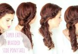 Easy Hairstyles On Youtube Simple Side Braided Hairstyle Youtube