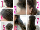 Easy Hairstyles Step by Step Instructions Easy Hairstyles Step by Step Instructions