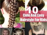 Easy Hairstyles that Kids Can Do Cute Hairstyles Kids Can Do Easy Hairstyles Kids Can Do