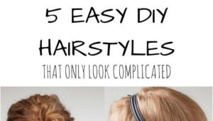 Easy Hairstyles that Look Complicated 1000 Images About My Style On Pinterest