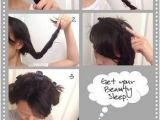Easy Hairstyles to Do before Bed 18 Overnight Hair Tutorials that Will Let You Wake Up with Perfect