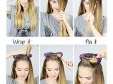 Easy Hairstyles to Do before Bed No Heat Curls Hacks Tips & Tricks for Curly Hair Styles No Damage