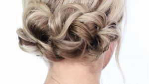 Easy Hairstyles to Do for A Night Out Diy A Simple Twist Updo for Your Next Night Out