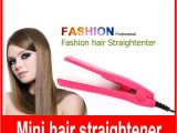 Easy Hairstyles to Do In Car Mini Portable Professional Car Plug Hair Styling Straightener Flat
