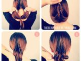 Easy Hairstyles to Do Overnight A Twist On the Low Bun Hair Ideas