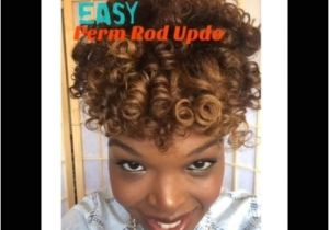 Easy Hairstyles to Do the Night before Easy Perm Rod Up Do for Date Night Voice Of Hair