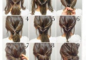 Easy Hairstyles to Do the Night before top 10 Messy Updo Tutorials for Different Hair Lengths