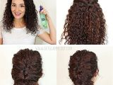 Easy Hairstyles to Do with Curly Hair Easy Hairstyles for Curly Hair Step by Step Inspirational