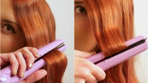 Easy Hairstyles to Do with Straightener Easy Flat Iron Waves Tutorial Hair Short to Medium