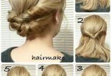 Easy Hairstyles to Do Yourself for Long Hair Easy French Twist Wedding Hair Tutorial