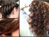 Easy Hairstyles Using A Curling Wand Curl Your Hair Easily In 5 Minutes without Using Heat or Curl