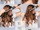 Easy Hairstyles Using A Curling Wand No Fail Curls Spray Lightly with Hairspray Twist Around Unclamped