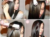 Easy Hairstyles Using A Straightener Curl Hair with Flat Iron Curling with Straightener Hacks How to