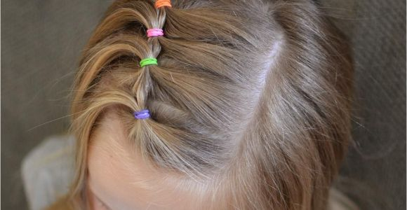Easy Hairstyles with 1 Hair Tie Super Cute and Easy toddler Hairstyle