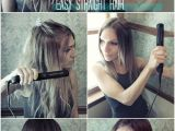 Easy Hairstyles with A Straightener Easy Straight Hairstyles for Girls How to Straighten Hair