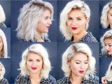 Easy Hairstyles with A Straightener How to 10 Easy Short Hairstyles with Flat Iron Tutorial