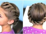 Easy Hairstyles with Braids Youtube How to Create A Crown Twist Braid