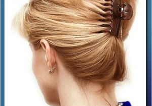 Easy Hairstyles with Clips 16 Best Claw Clip Hairstyles Get Classy In Seconds Blog