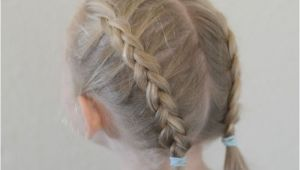 Easy Hairstyles with One Hair Tie Easy Back to School Hair Braid Tutorials