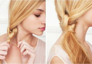 Easy Hairstyles with Only A Hair Tie Get Ready Fast Quick and Easy Hairstyles
