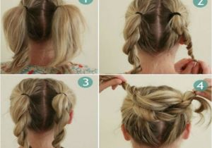 Easy Hairstyles with Steps Bun Hairstyles for Your Wedding Day with Detailed Steps
