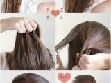 Easy Hairstyles with Steps Simple Hairstyles for Long Hair Step by Step