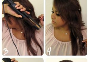 Easy Hairstyles with Straighteners How to Curl Long Hair with A Straightener