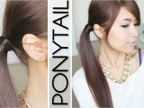 Easy Hairstyles without Bobby Pins Hair Wrapped Ponytail No Bobby Pins Hairstyle Hair