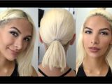 Easy Hairstyles without Heat No Heat Hairstyles for Short Hair
