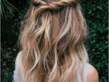 Easy Half Up Hairstyles for Curly Hair 15 Simple Hairstyles that are Half Up Half Down