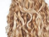 Easy Half Up Hairstyles for Curly Hair An Easy Half Up Braid Tutorial for Curly Hair Hair Romance