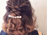 Easy Half Up Hairstyles for Medium Hair 31 Half Up Half Down Hairstyles for Bridesmaids