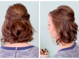 Easy Half Up Hairstyles for Medium Hair Quick Easy Half Up Hairstyles
