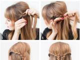 Easy Half Up Hairstyles Tutorial 658 Best Half Up Half Down Hair Images On Pinterest