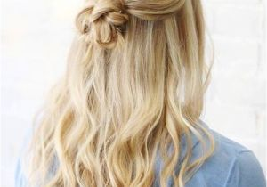 Easy Half Up Half Down Hairstyles for Long Hair Updates On 2017 Half Up Half Down Hairstyles Latest Ideas