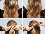Easy Holiday Hairstyles for Short Hair 233 Best Diy Hair Styles Images