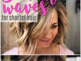 Easy Holiday Hairstyles for Short Hair Easy Beach Waves for Short Hair In 2018 Friseur