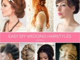 Easy Homemade Hairstyles Braids Twists and Buns 20 Easy Diy Wedding Hairstyles
