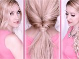 Easy Last Minute Hairstyles Everyday Hair Tutorial Last Minute Hairstyles for School