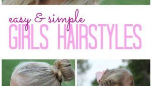Easy Little Girl Hairstyles for School Easy Girls Hairstyles for Back to School