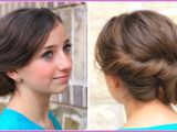 Easy Making Hairstyles How to Make Easy Twist Updo Prom Hairstyle