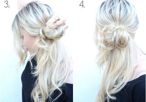 Easy Messy Bun Hairstyles for Long Hair 10 Super Easy Updo Hairstyles Tutorials Popular Haircuts