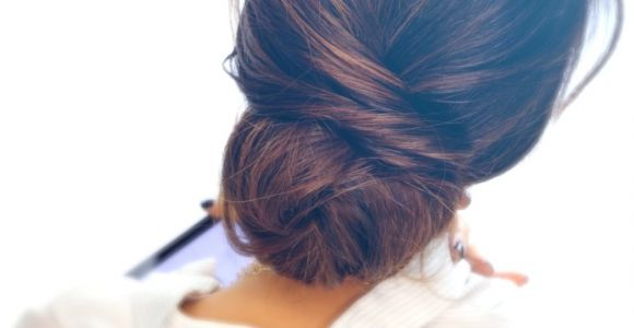 Easy Messy Bun Hairstyles for Long Hair How to Elegant Updo with Curls