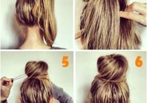 Easy Messy Hairstyles for Short Hair Perfect Messy Bun Hairstyle Inspiration and Easy Tutorials for Short