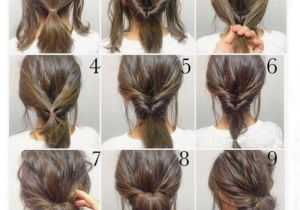 Easy Messy Hairstyles for Short Hair top 10 Messy Updo Tutorials for Different Hair Lengths