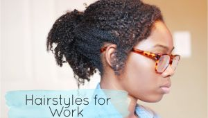 Easy Natural Hairstyles for Work Simple Hairstyle for Natural Hairstyles for Work Easy